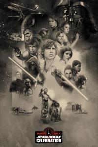 Póster para la Star Wars Celebration