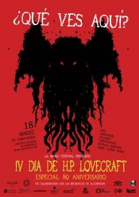 Celebra el 80º Aniversario de H.P. Lovecraft en Alcobendas